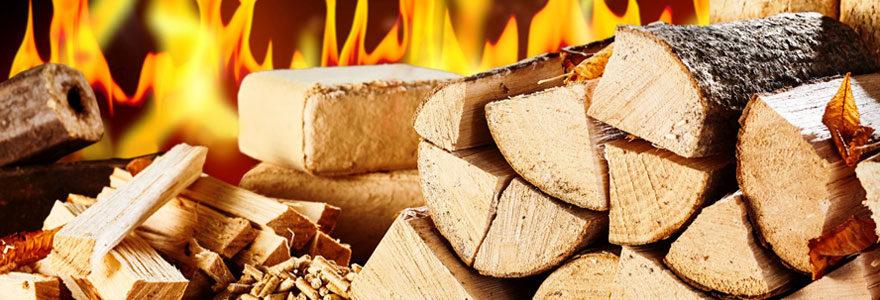 Faire son achat de bûches de bois en ligne