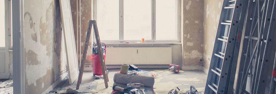 restauration d'un bâtiment