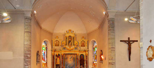 chauffage dans les lieux de cultes