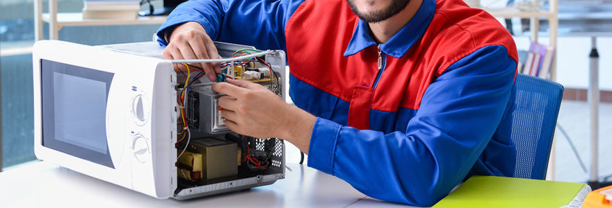 Réparation d'électroménager